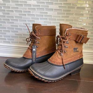 NWT Sorel Winter Fancy Lace II Waterproof Boots
